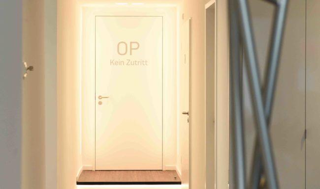 augenzentren - Praxisbild - OP-Kein Zutritt - Düsseldorf