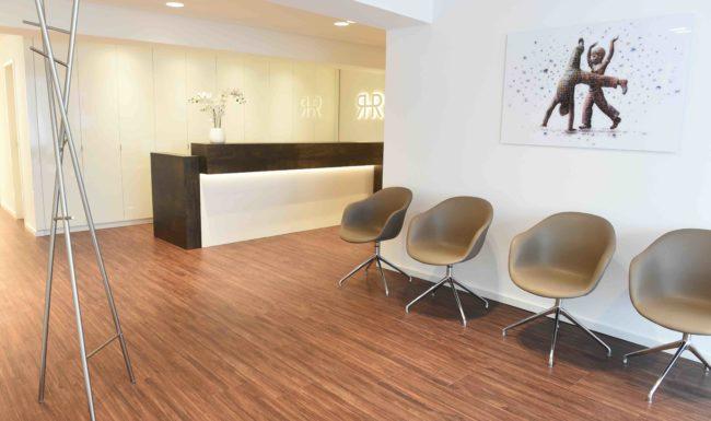Praxis Wuppertal - Patientenwartebereich - Linsenbehandlung
